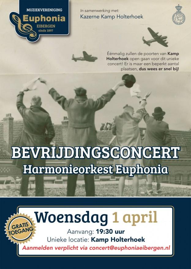 Bevrijdingsconcert Harmonieorkest Euphonia Eibergen