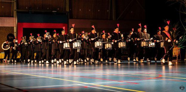 Drumfanfare tijdens voorjaarsconcert 2019